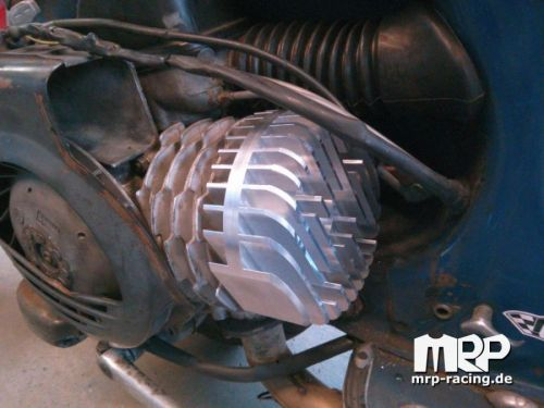 CNC cylinderhead for Malossi 172 Vespa T5