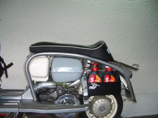 "Luggage Box ""Linksträger"" for Lambretta"
