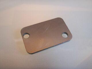 Verschlussplatte 2-Loch