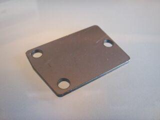 Verschlussplatte 3-Loch