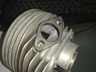 Smallframe Auslassflansch 30mm