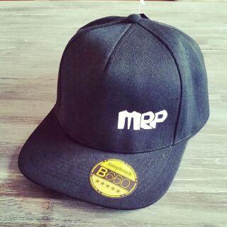Snapback Cap MRP, schwarz