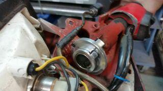 Quick action throttle pulley Vespa PX/T5/PK