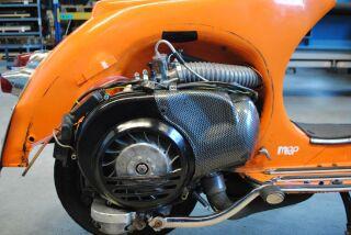 MRP 36mm rotary valve intake largeframe Vespa PX, T5, Sprint, Rally, VNB...