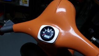 Speedo-adapter SIP Speedo V50 in Vespa 125 VNA/VNB 72x62mm