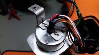 Speedo-adapter SIP Speedo V50 in Vespa 125 VNA/VNB 72x62mm