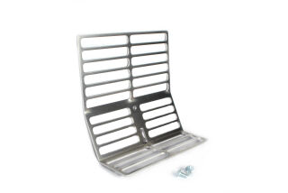 Luggage carrier, stainless steel, Vespa Sprint, VNB, VNA, VBB, V50, PV usw...