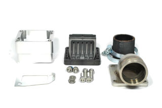 MRP Reed Valve System, long intake surface, 38mm complete set with VForce4 and carb rubber