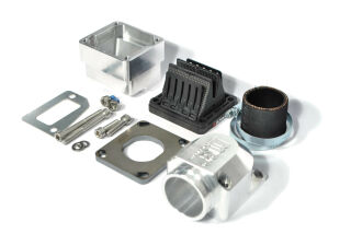 MRP Reed Valve System PX RD350 38mm, CNC-Edition with VFORCE4  reed and carb rubber