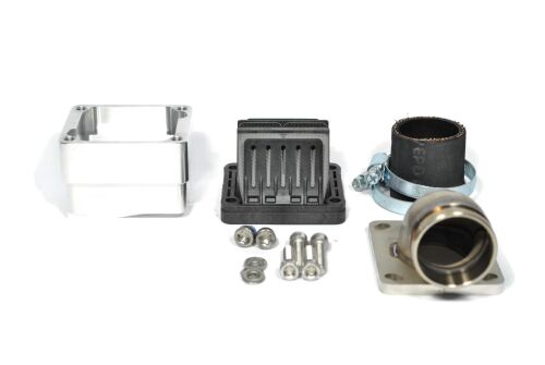 MRP Reed Valve System for LML-engine-case, 36mm, complete set with VForce4 and carb rubber