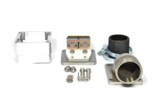 MRP Reed Valve System for LML-engine-case, 38mm, complete set with RD350 reed and carb rubber