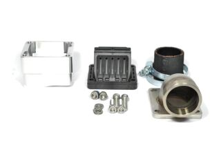 MRP Reed Valve System for LML-engine-case, 38mm, complete set with VForce4 and carb rubber