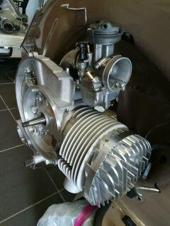 Adapter RD350 Membran auf VR-One Motorgehäuse