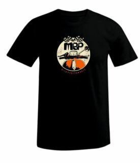 T-Shirt MRP vintage, schwarz, Größe XXL