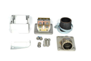 MRP Reed Valve System, long intake surface, 30mm complete set with RD350 reed and carb rubber