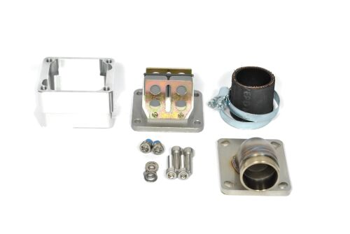MRP Reed Valve System for LML-engine-case, 30mm, complete set with RD350 reed and carb rubber